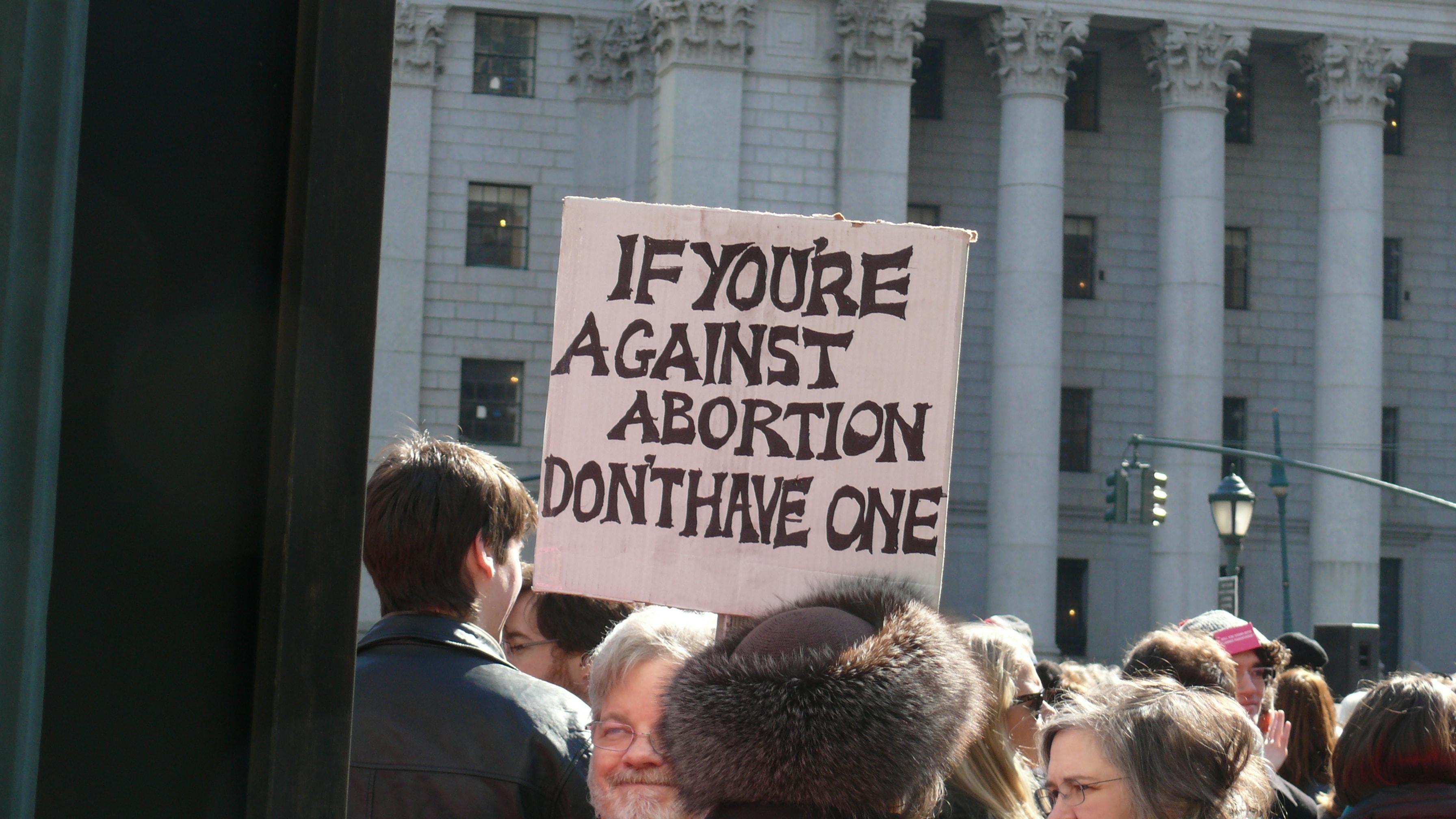 Abort on USAs kõikjal riigis lubatud alates 1973. aastast, kuid siiani leidub tuliseid vastuvõitlejaid, kelle arvates tuleks see taas keelustada. Foto: Women's eNews (CC BY 2.0)