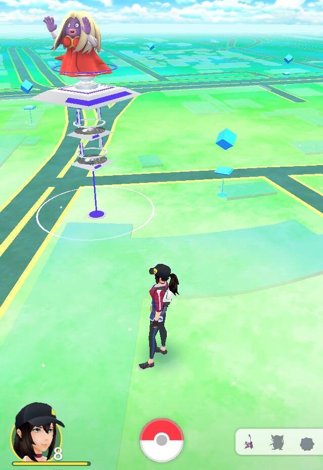 Maailm Pokémon Go moodi. Foto: erakogu