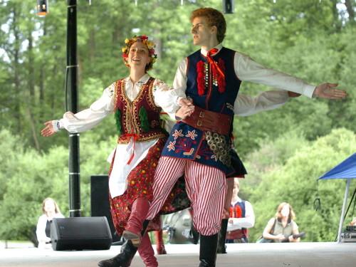 Poola rahvatantsijad. Foto: Wikipedia