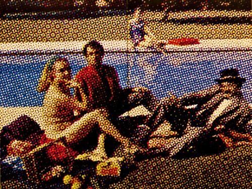 Prantsuse maalikunstniku ja skulptori Alain Jacqueti 1964. a. õlimaal Eine murul_Foto Flickri kasutaja Pedro Ribeiro Simões (CC BY 2.0)