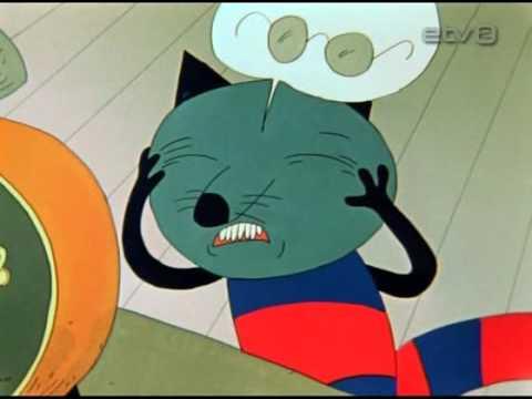 """Kaader Priit Pärna animatsioonist """"Aeg maha""""."""