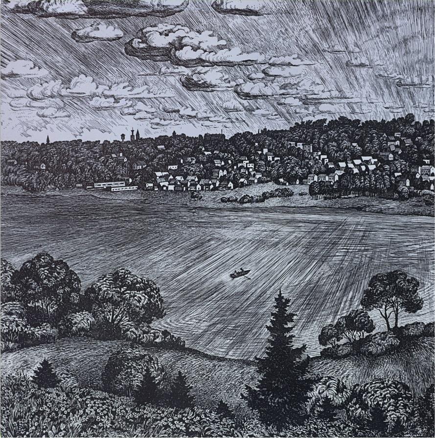 """""""Viljandi vaade"""", Viive Kuks, 1984 (plaadikaanel)"""