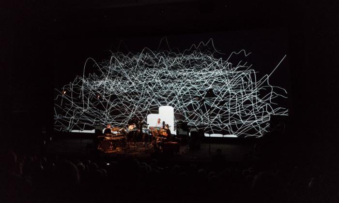 Prantsuse muusikakoosluse Vegan Dallas kontsert Punkt festivalil. Foto: Jorund Pedersen
