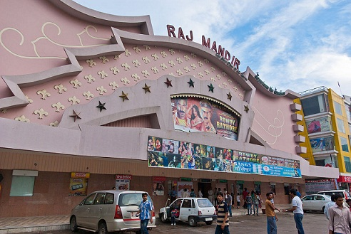 Raj Mandir Cinema, Jaipur. Allikas: Commons Wikimedia