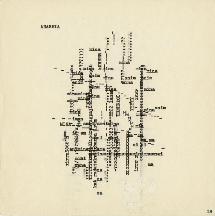 "Raul Meel, ""Anarhia"", 1968–1969"