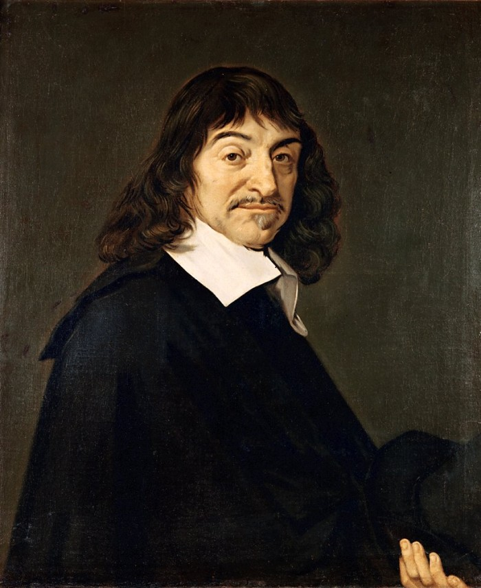 René Descartes'i filosoofias on loomad masinad, kellel puudub ratsionaalne eneseteadlik mõtlemine. Portree autor: Frans Hals (1648)