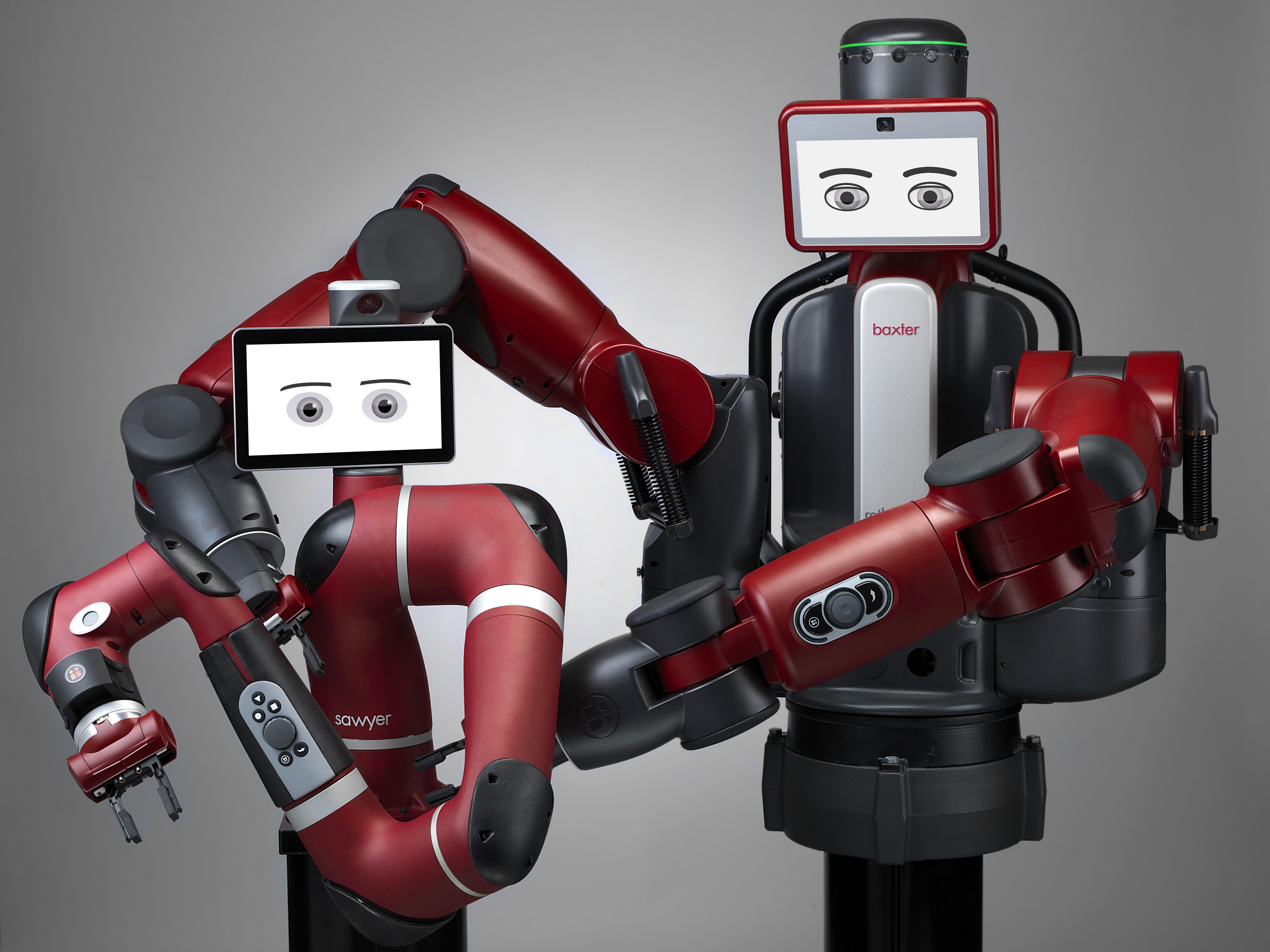 Robotid Sawyer ja Baxter.