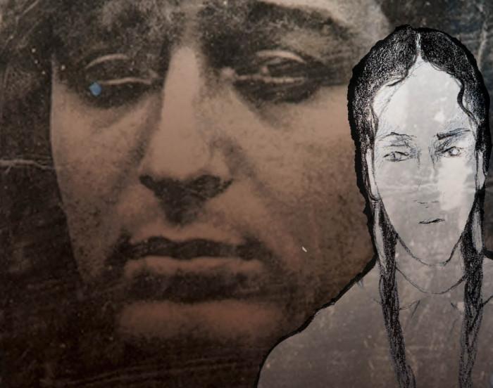 """Pilt näituselt """"Miranda – mustlaste holokaust"""""""