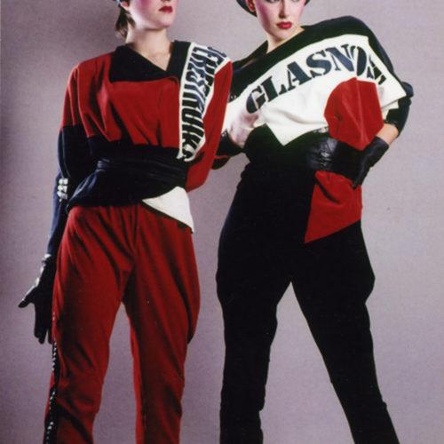 Saima Priks Perestroika ja glasnost, 1987, Eesti Ajaloomuuseum. Foto: Sergei Didõk