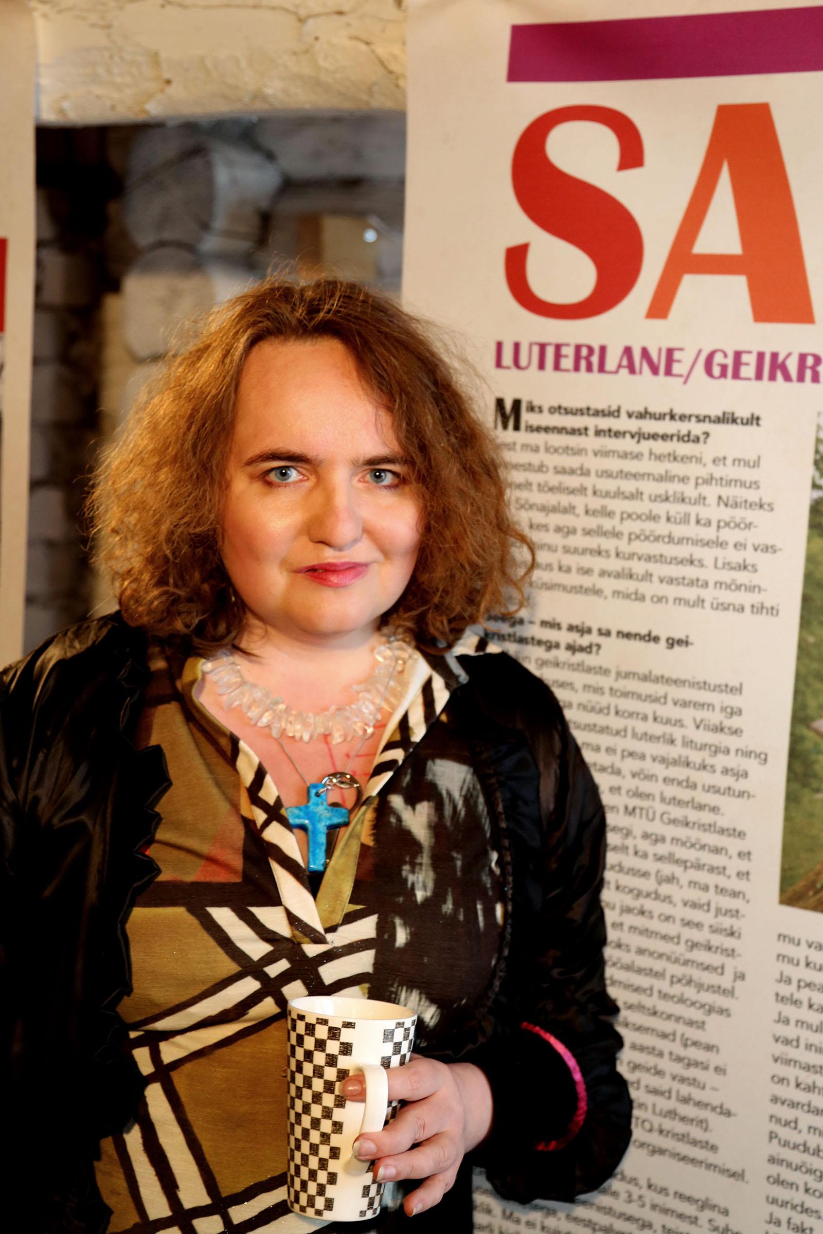Sandra Jõgeva. Foto: Jaak Kikas