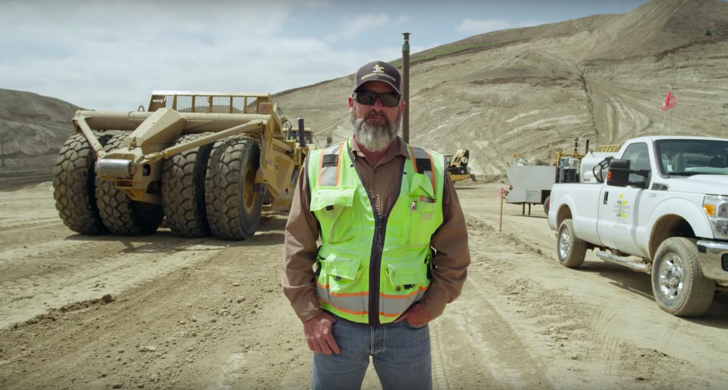 """Austria dokumentalisti Nikolaus Geyrhalteri """"Maa"""" vaatleb maavarade kaevandamist. Foto: kuvatõmmis"""