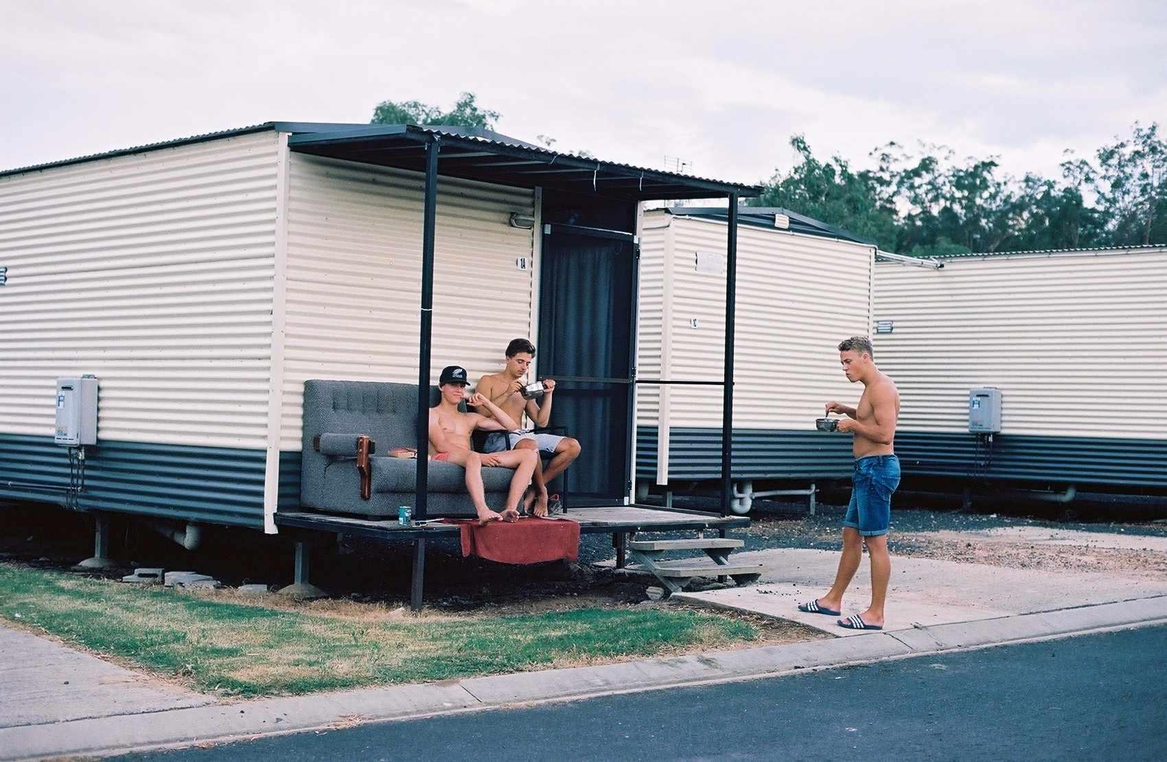 Rändurid Austraalias. Foto: Patrik Tamm
