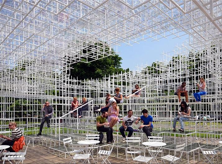 Sou Fujimoto kavandatud Serpentine Gallery Pavilion 2013. aastal