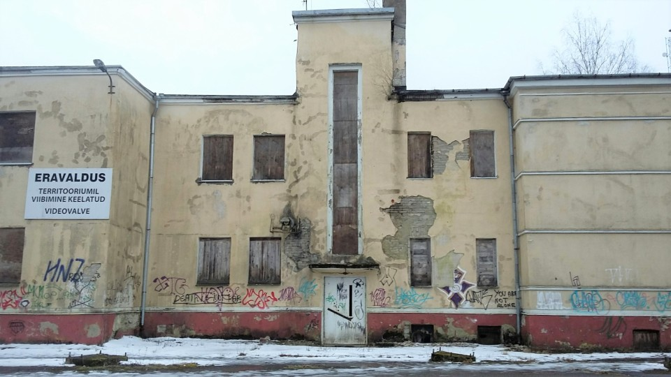 1938. aastal avatud Sõjaväesanatoorium. Foto: Elsbeth Hanna Aarsalu