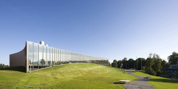 Sports Hall of the Estonian University of Life Sciences. Photo: Kaido Haagen