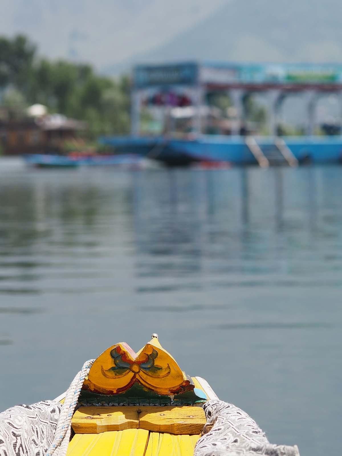 Paadisõit Dali järvel Srinagaris