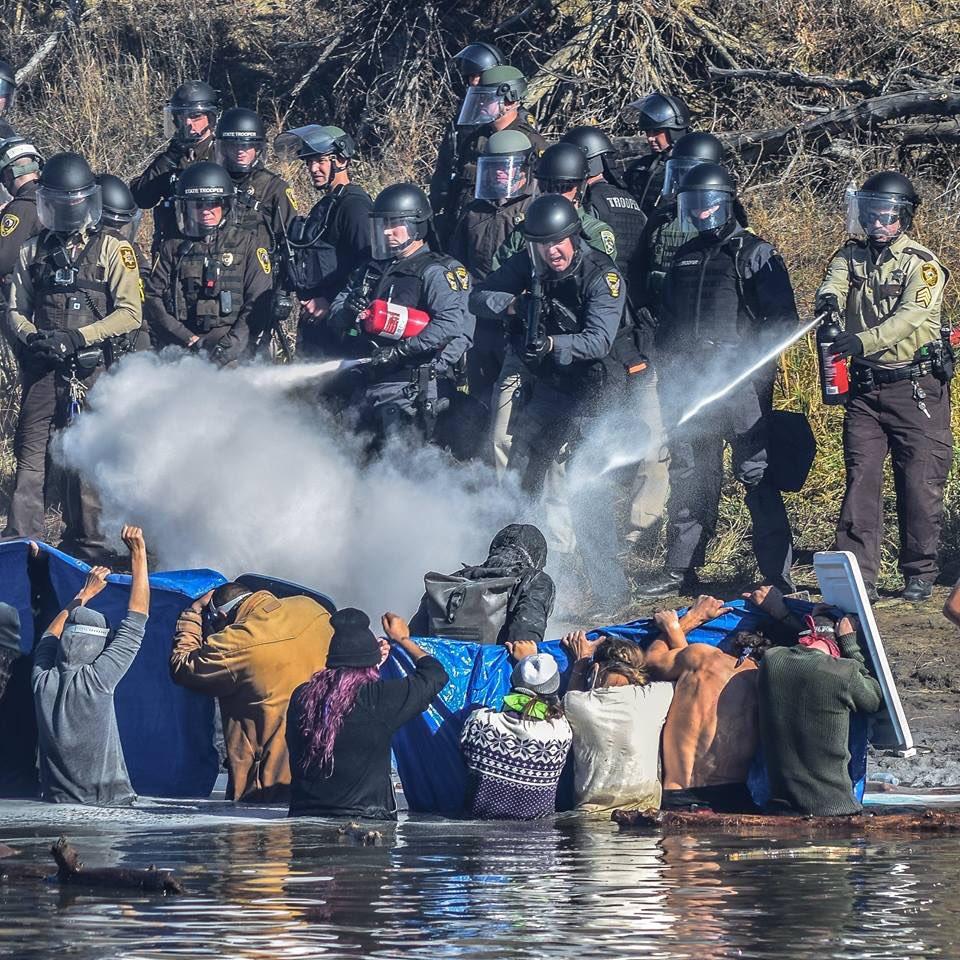 Ameerika põlisrahvaste meeleavaldus Standing Rocki reservaadis. Foto: press