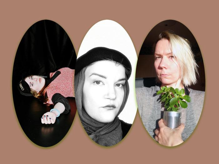 Vasakult: Sveta Grigorjeva, Triin Tasuja, Piret Karro. Kollaaž: Laura Põld