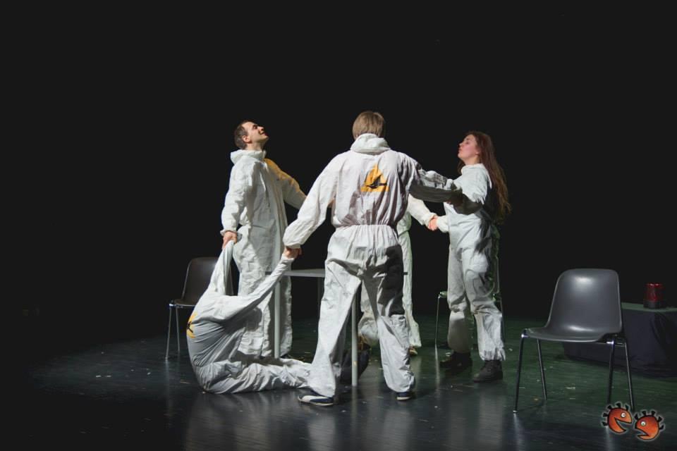 """T-Teater, """"Puukoristajad"""". Foto: Argo Ingver"""