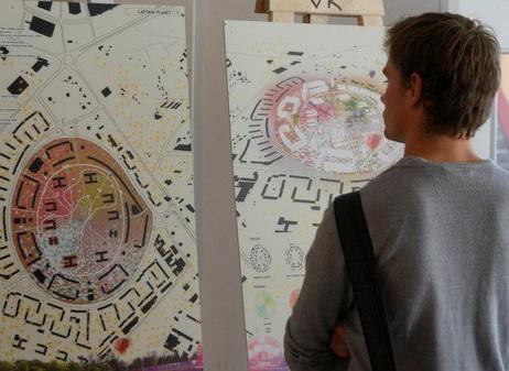 TAB 2013 visioonivõistluse näitus. Foto: Reio Avaste