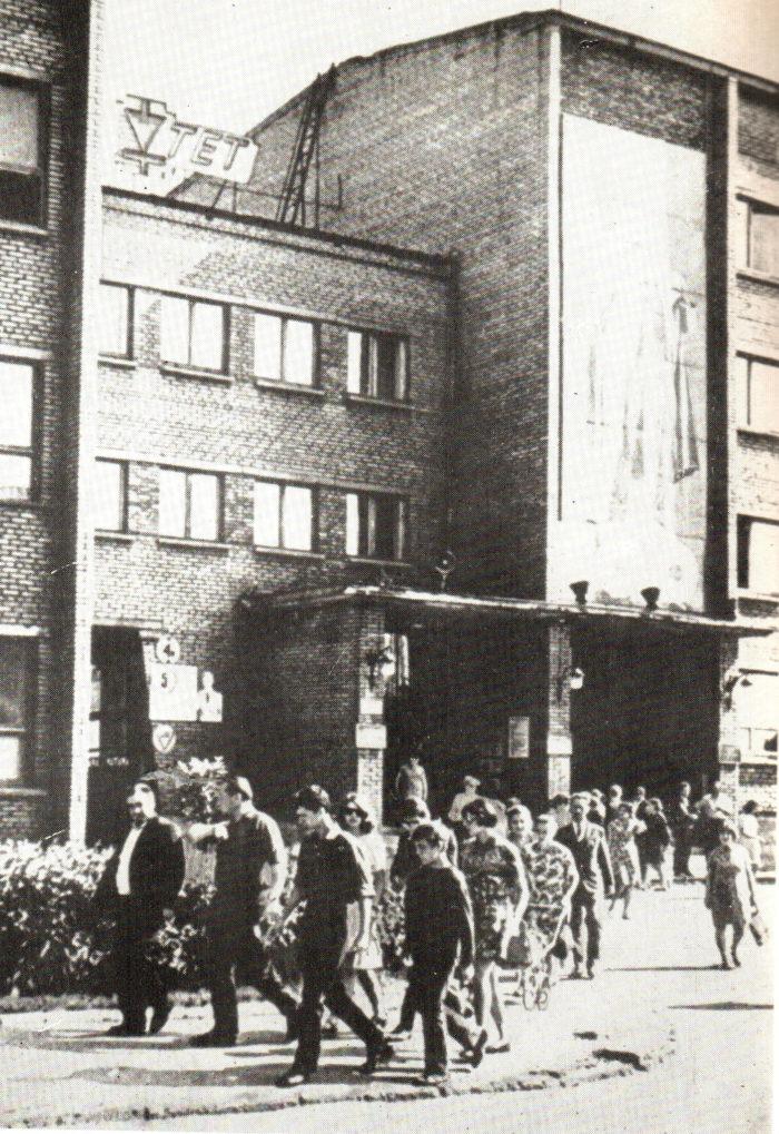 Vahetuse lõpp, 1970. Foto: erakogu