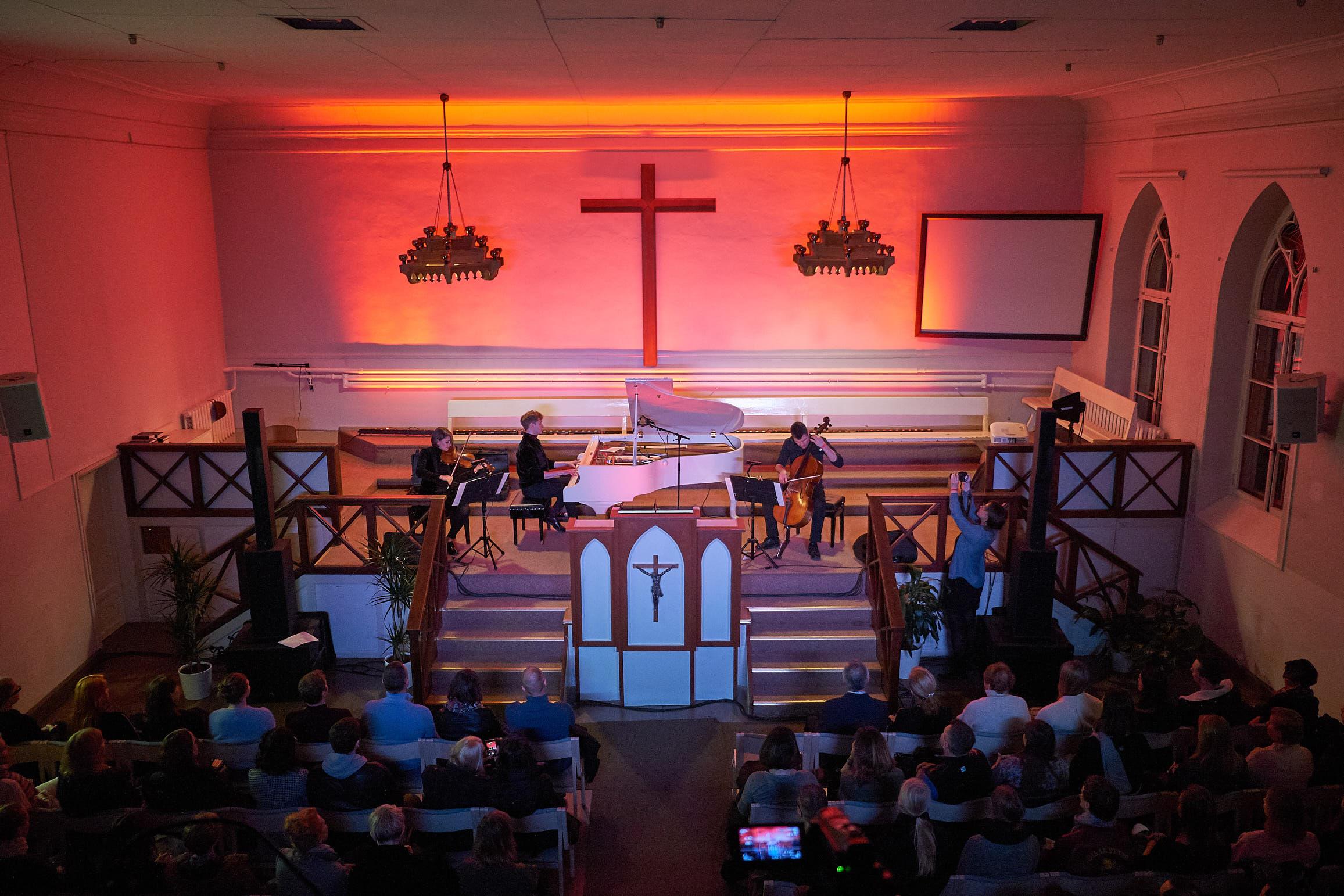 Kontsert Kalju koguduse kirikus. Foto: Kevin Loigu