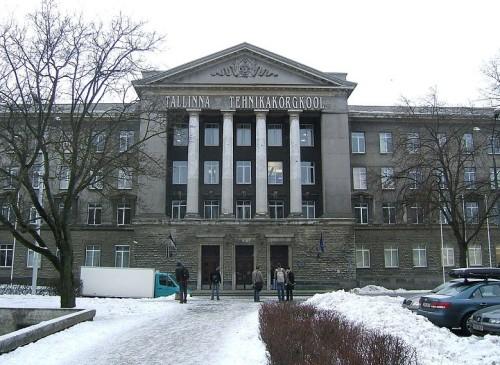 Tallinna Tehnikakõrgkooli peahoone. Foto: Peter Van den Bossche