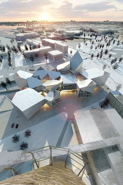 Tallinna uus raehoone. BIG