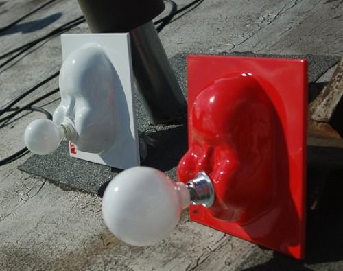 """Näitusel eksponeeritavad Tarmo Luisu """"Bubble"""" valgustid"""