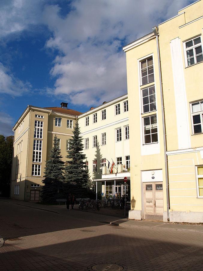 Tartu Linnaraamatukogu. Foto: Ivo Kruusamägi