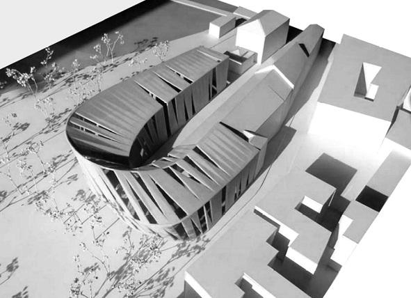 Tartu Oskar Lutsu nimelise Linnaraamatukogu ja Tartu Kunstimuuseumi arhitektuurivõistluse võidutöö