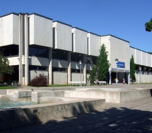 Tartu Ülikooli raamatukogu. Foto: Wikimedia Commons, kasutaja Mandariina