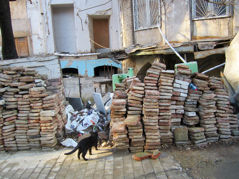 Postsotsialistlik linnaruum Tbilisis. Foto: Francisco Martinez