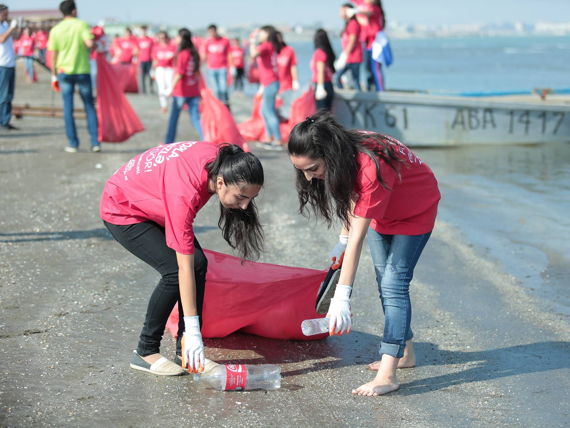 Teeme Ära Maailmakoristuse talgud Aserbaidžaanis. Foto: Let's Do It! World
