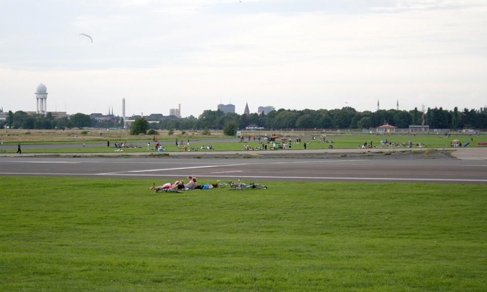 Tempelhof Park in summer 2010
