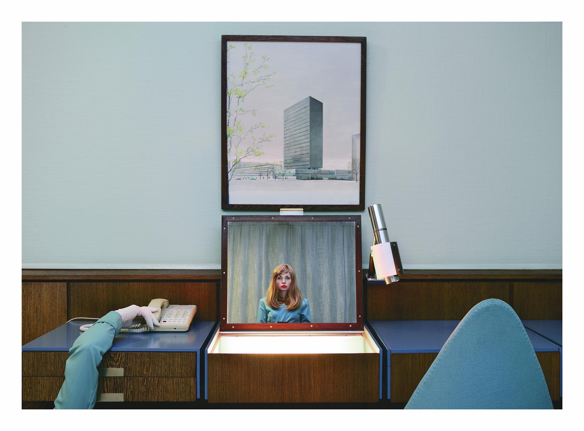 "Anja Niemi ""The Receptionist"", 2013. Allikas: Fotografiska"