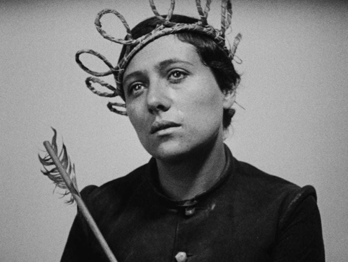 "Kaader filmist ""The Passion of Joan of Arc"""