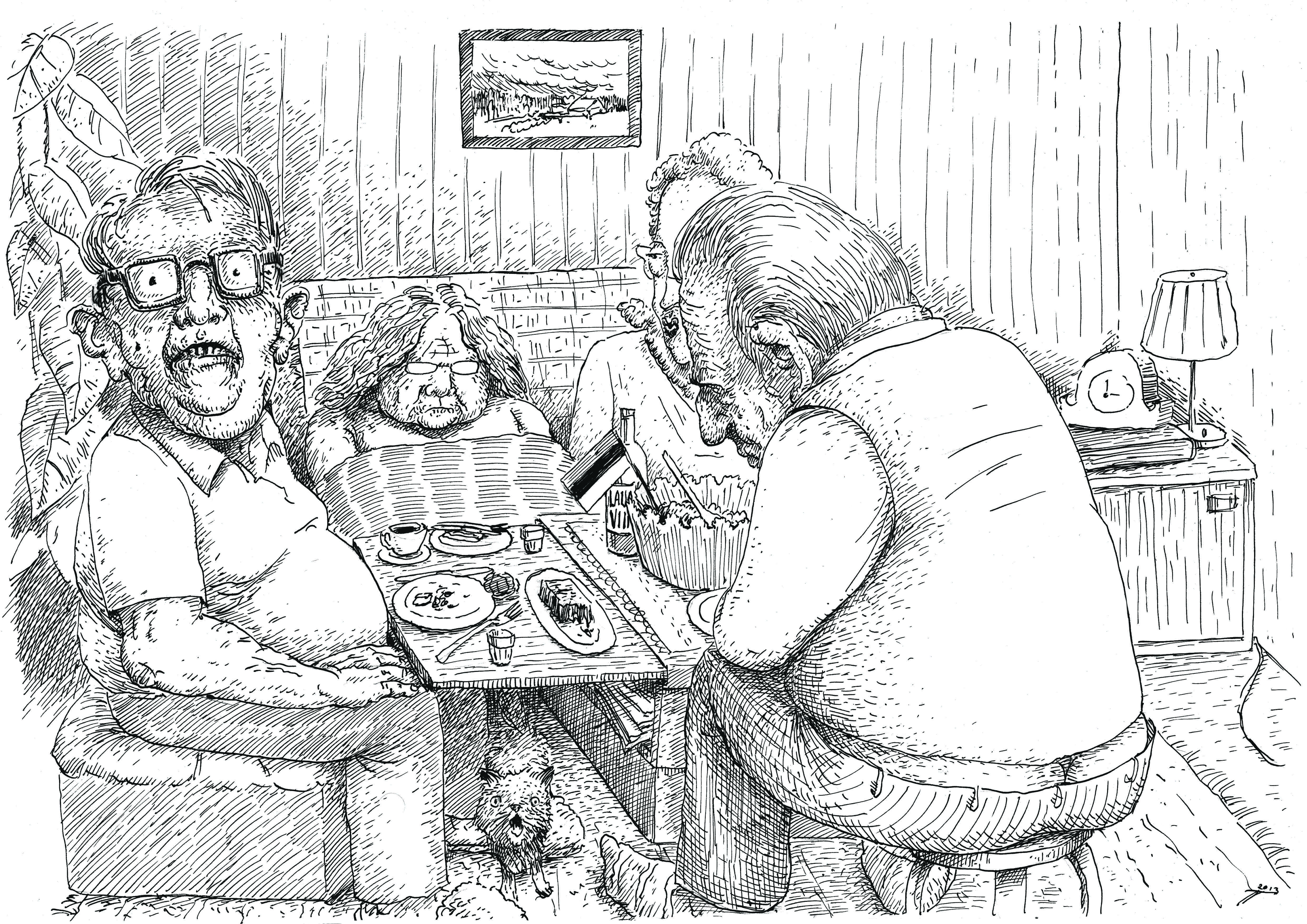 """Karikatuur """"Vabariigi aastapäev"""" Autor: Toom Tragel"""