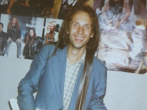 Tudeng Alvar Loog aastal 1994. Foto: erakogu
