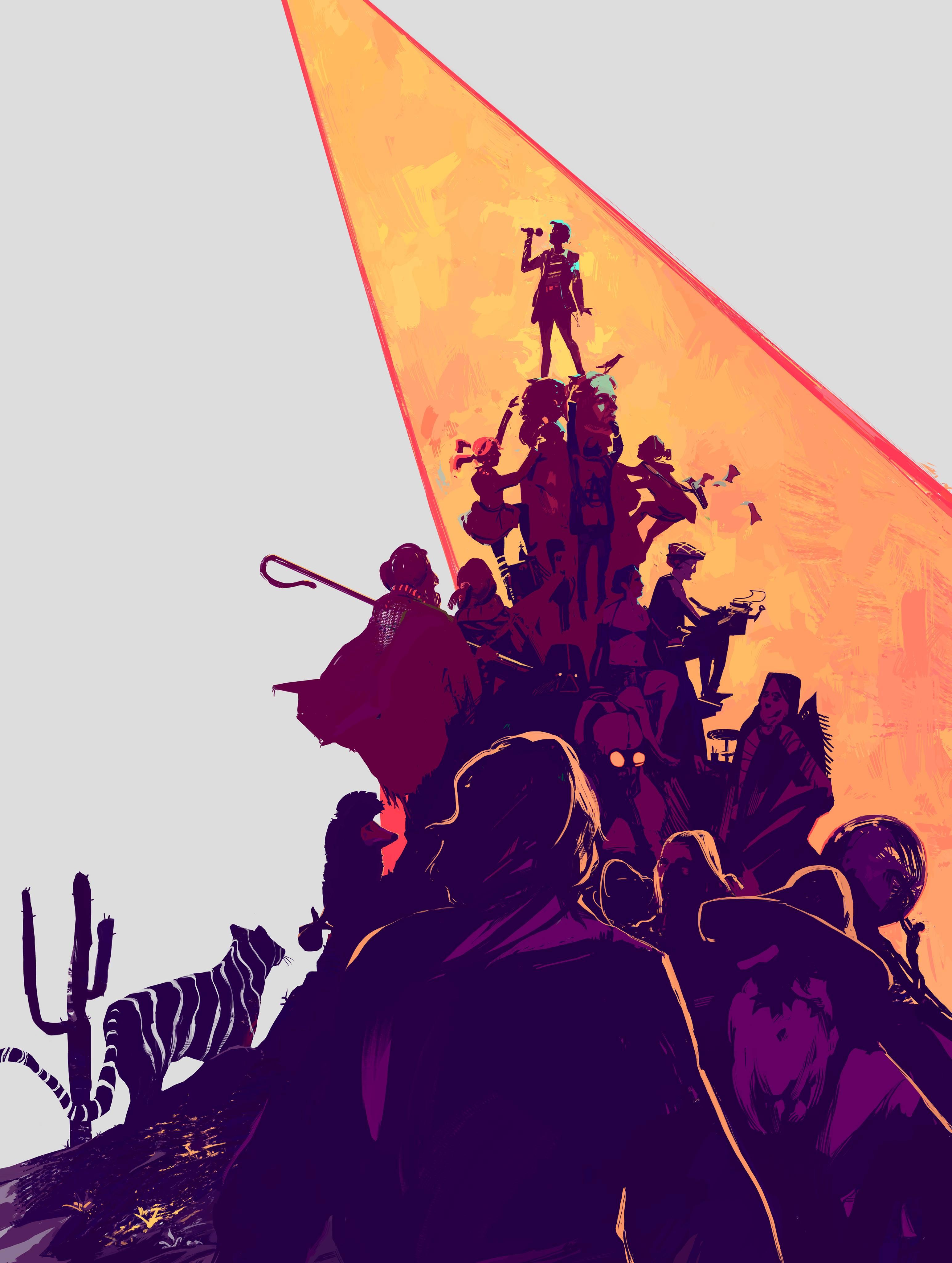 TarSlämmi finaali plakat, 2018, digitaalne illustratsioon