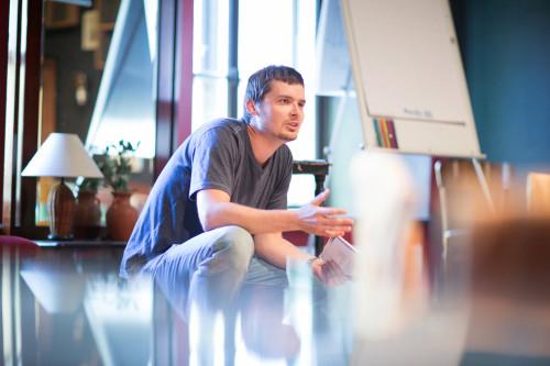 Priit Kruus õpetaja Tammikuna. Foto: Siim Vahur