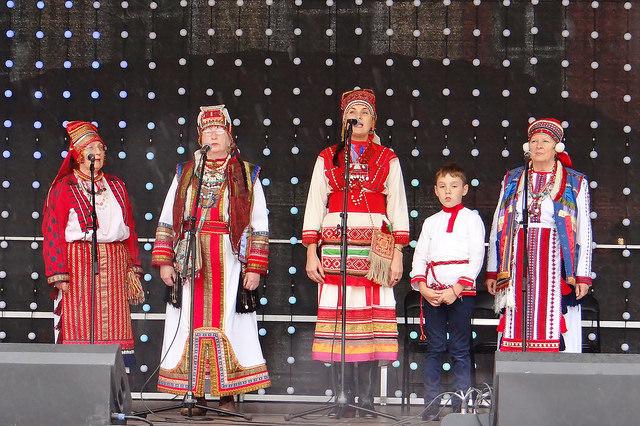 Nädalavahetusel toimus rahvuste päeva programmi raames Eestimaa Rahvuste Ühenduse liikmete etnolaat ja kontsert. Foto: Toivo Treufeldt