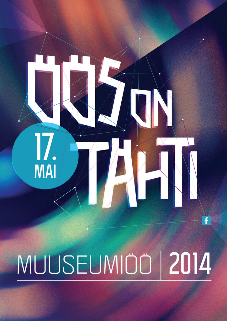 Poster for the Night of Museums.