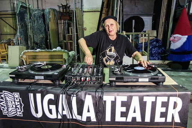 Luule Komissarovi hooaja avaroll on sel korral DJ. Foto: Heigo Teder