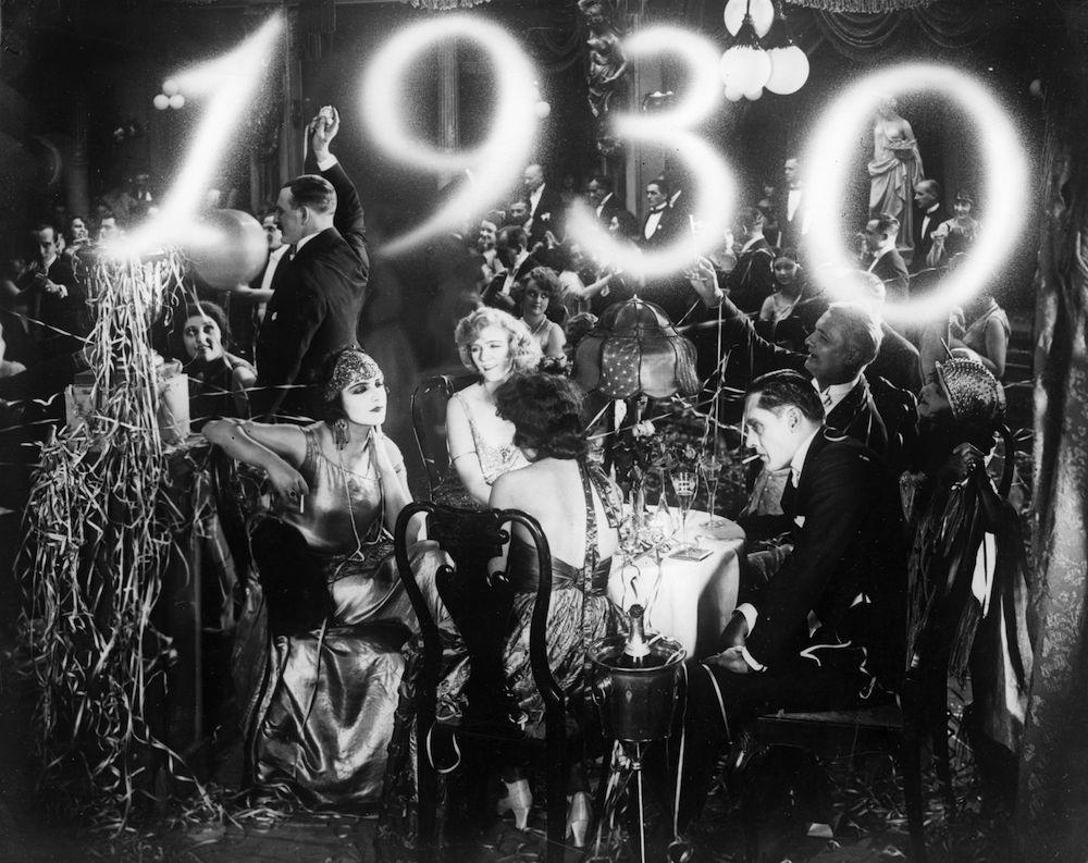1930. aasta saabumise pidu. Foto: Mart Sanderi erakogu