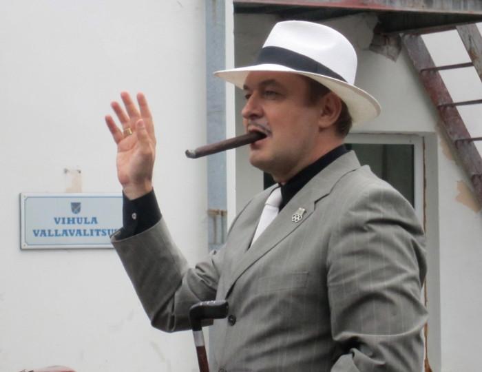 Raivo E. Tamm Võsu Glämmil aastal 2015. Foto: press