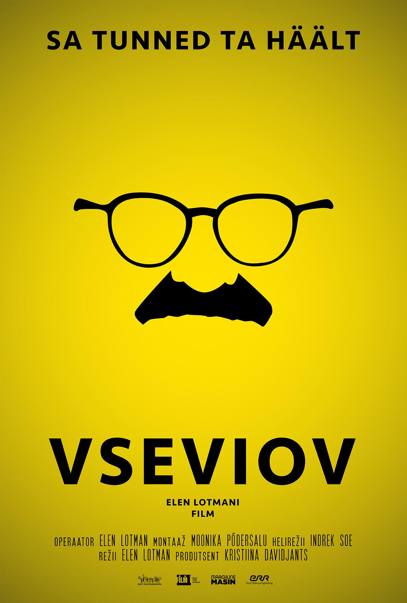 """Filmi """"Vseviov"""" plakat. Autor: Madis Tüür"""