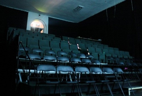 Vaade tiitli 2012. Aasta Uustulnuk pälvinud Tartu Elektriteatri kinosaalile. Foto: Uku Haljasorg