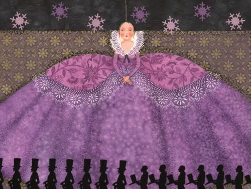 """Illustratsioon Peter Doka raamatule """"Lilla kuningatütar"""""""
