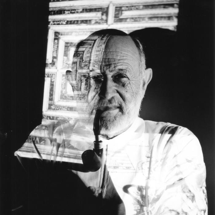 Vilém Flusser. Foto: Ed Sommer